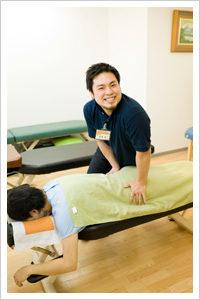 筋肉の緩和処置